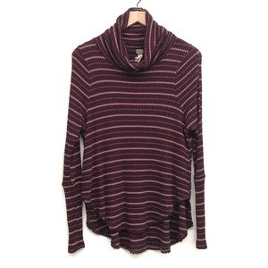 We the Free Purple Striped Sweater - Size M